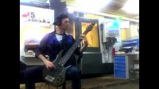 Chimaira - Dehumanizing Process Bass cover(, 2014-08-29T06:11:38.000Z)