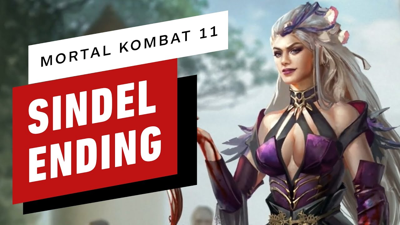 Mortal Kombat 11 Sindel Ending Cutscene Youtube