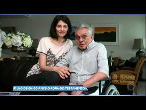 Filho mais velho de Chico Anysio está fora do testamento do pai
