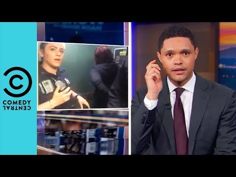 Black People Can't Even Take A Nap In Peace | The Daily Show With Trevor Noah