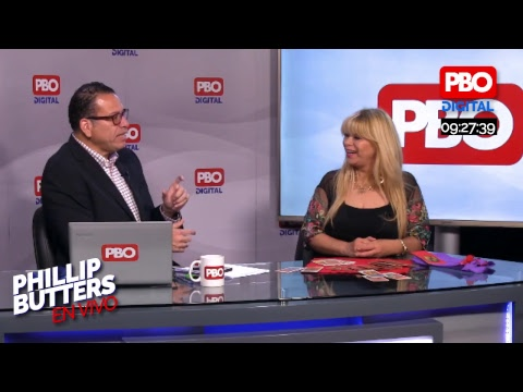 Phillip Butters - En Vivo 27 dic 2018- Entrevista a Agatha Lys