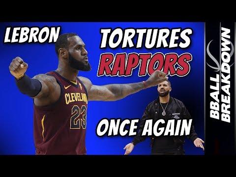 LEBRON Tortures RAPTORS Once Again