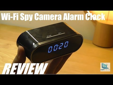 REVIEW: Wi-Fi Hidden Spy Camera Alarm Clock (FHD 1080P)