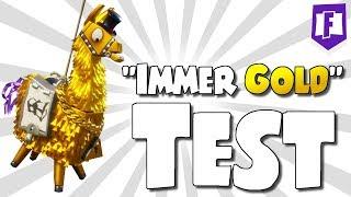 Lamas immer GOLD kriegen? Lama Opening ✨➤ Fortnite Rette die Welt • Deutsch • Sharx