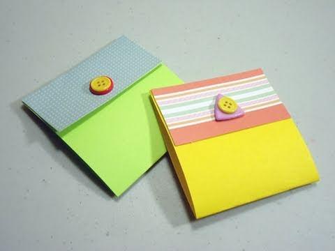 Como hacer una tarjeta en forma de caja de cerillos - Como realizar tarjetas navidenas ...