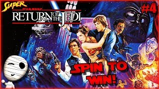 Spin to Win! - Super Star Wars Return of the Jedi #4 - Tombie Lets Play HD