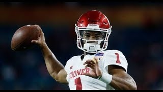Kyler Murray QB#1 Oklahoma Sooners vs Alabama 2018