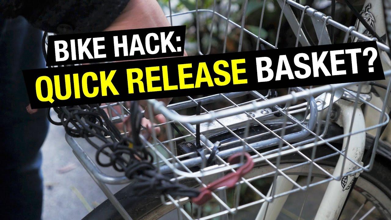 bike hack quick release wald basket