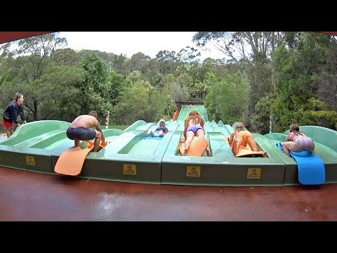 Racing Surf Water Slide at Jamberoo Action Park