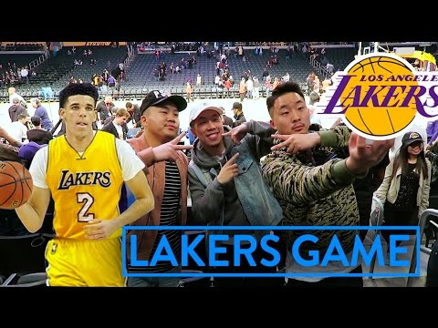 LAKERS NEED LONZO BALL RIGHT NOW! (Lakers Game VLOG)