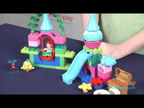 LEGO Duplo Disney Princess Ariel's Undersea Castle From LEGO