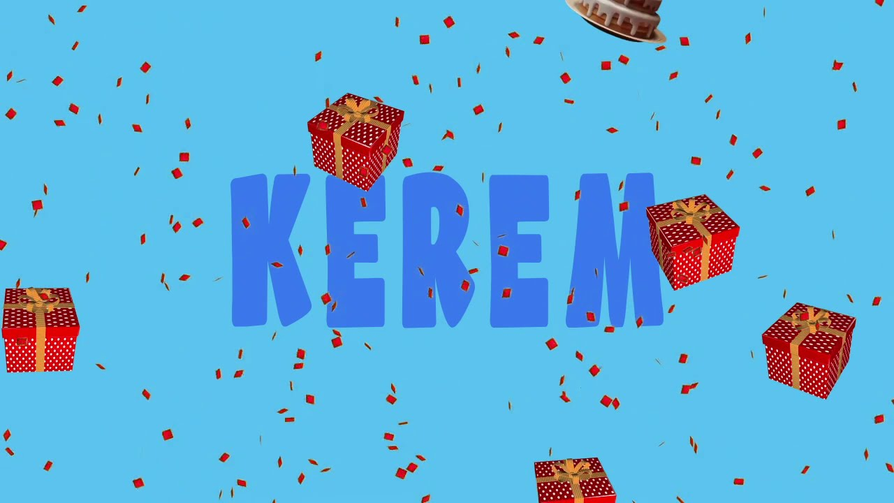 İyi ki doğdun KEREM - İsme Özel Ankara Havası Doğum Günü Şarkısı (FULL VERSİYON) (REKLAMSIZ)