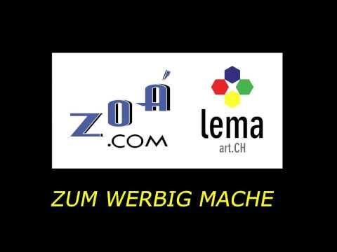 Produktion & Verkauf Werbung Jingles ZOÁ & LEMA  (Mundart)