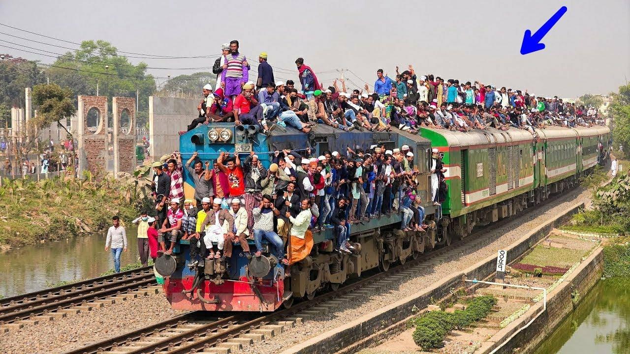 বাংলাদেশ ট্রেন | এই পরিবহন ব্যবস্থা গুলো দেখলে অবাক হবেন | 5 Most Incredible Transport Operations