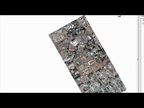 Simple steps to georeference & extract features from google earth image using ArcGIS 10_2