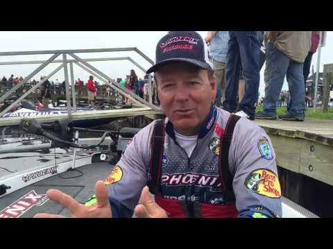 Davy Hite: Day 2 at the BASS Elite on the Sabine River