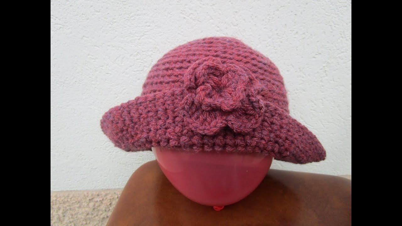 Crochet Uncinetto Tutorial Cappellino Youtube