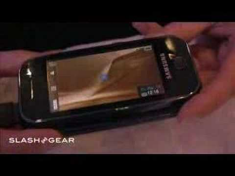 SlashGear at CeBIT: Samsung F700 hands-on