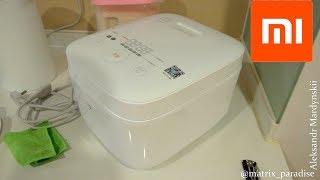 Xiaomi Mijia IH 3L Smart Electric Rice Cooker IHFB01CM мультиварка рисоварка від сяоми! Робимо рис!