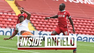 Inside Anfield: Liverpool 7-2 Blackpool | Reds hit seven to close out pre season