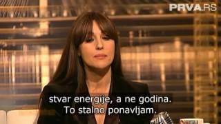 Monica Bellucci Serbian show