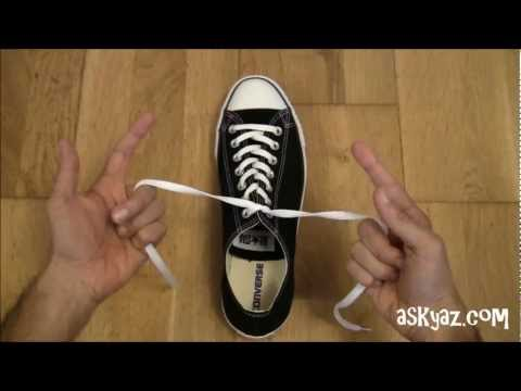 How to tie a Shoe Lace in 1 Second
