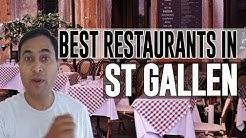Best Restaurants and Places to Eat in St Gallen, Switzerland