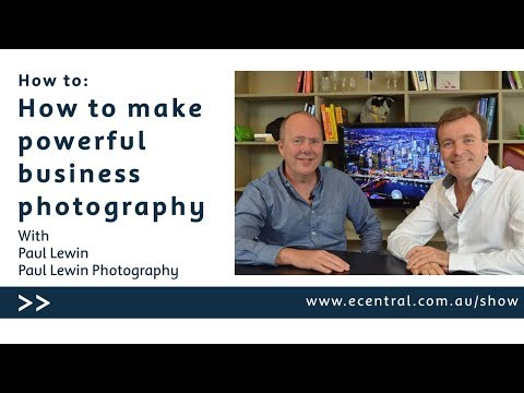 How to make powerful business photography