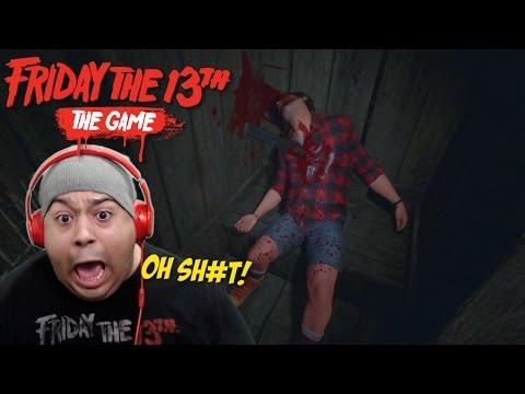 THIS MODAPH#%KA MADE ME JUMP!! [FRIDAY THE 13TH: THE GAME] [VIRTUAL CABIN]