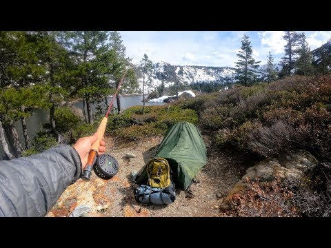 Solo Backpacking the High Sierras With Creepy Sounds at Night