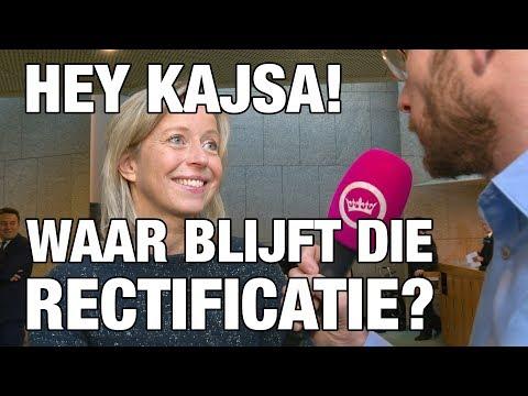 GSTV: Tom veegt vloer aan met Kajsa Ollongren over beschuldiging nepnieuws