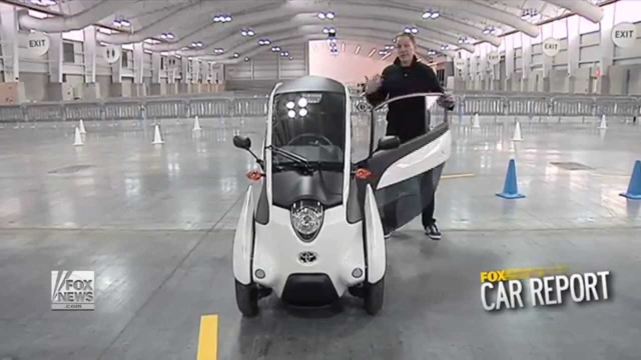 FOX Car Report - Toyota's 'car' of the future