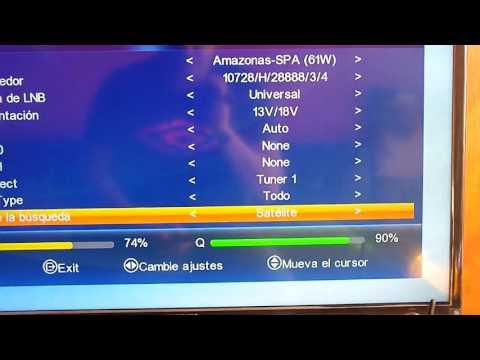 Busqueda de canales Freei X Duo + / Nazabox S1010