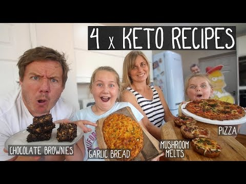 4 x Keto Recipes
