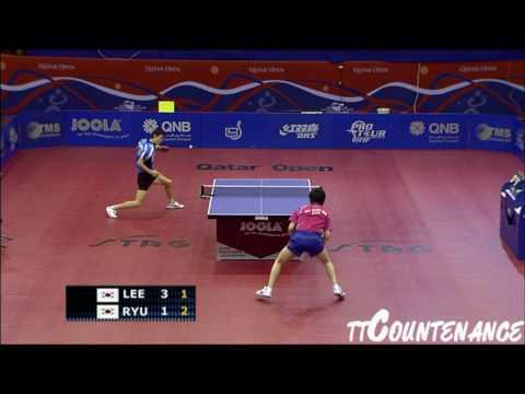 Qatar Open: Ryu Seung Min-Lee Jung Woo