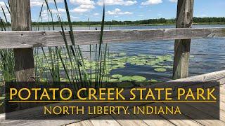 Potato Creek State Pąrk Indiana|Campground Review