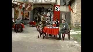 Русские партизаны в немецком кафе