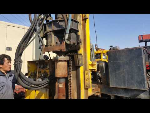 [ Winwin Used Machinery ] Used Water Well Drill Truck Type Atlas Copco Aquadrill R50 1994yr For Sale
