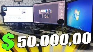 MEU PC GAMER DE R$ 50.000,00