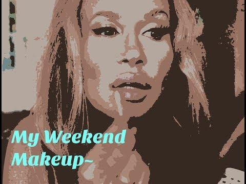 Tutorial~My Weekend Makeup