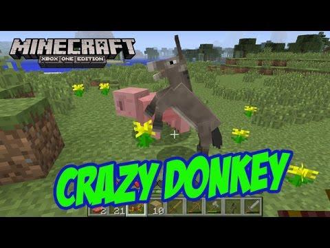 Crazy Donkey!!! - Minecraft Xbox One Edition (Gameplay, Walkthrough)