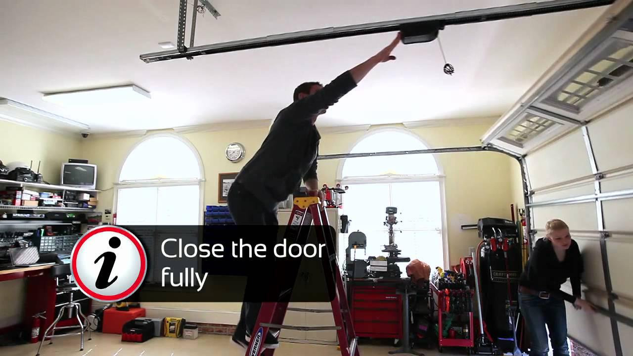 Garage Door Opener Installation SOMMER  YouTube