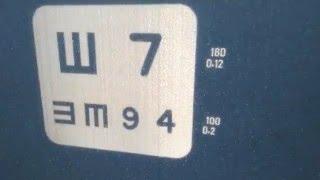 Проектор знаков Takagi CP-30 демонстрация меню проектора(Оборудование для оптик,офтальмологических кабинетов,продажа таких приборов,как авторефрактометр,щелевая..., 2016-02-22T08:04:41.000Z)