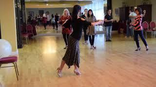 Tango Fundamental Technique 3 - Tecnica para el Tango clase 3 Georgina & Oscar Mandagaran