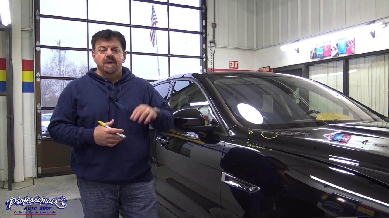 Jaguar - Post Repair Inspection - YouTube