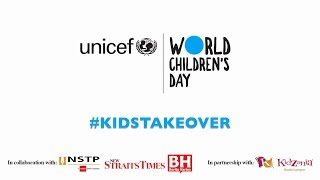 Kids Take Over - World Children's Day 2017