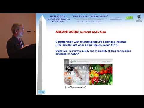 ILSI NA – ICN 2017: New Developments in the Association of Southeast… (E Siong Tee, PhD)