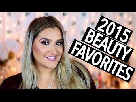 2015 Beauty Favorites! | Too Faced, Makeup Forever, MAC, NARS, and MORE!!