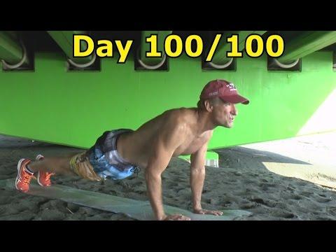 10,000 Push-Ups Challenge (Day 100/100)