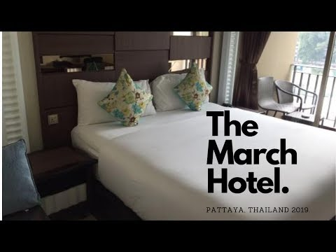 March Hotel Pattaya, Thailand 2019 Hotel Room Review.